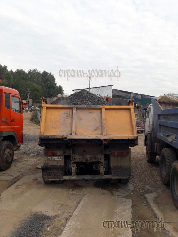 Доставка сыпучих грузов самосвалом